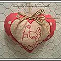 coeur moon red poule