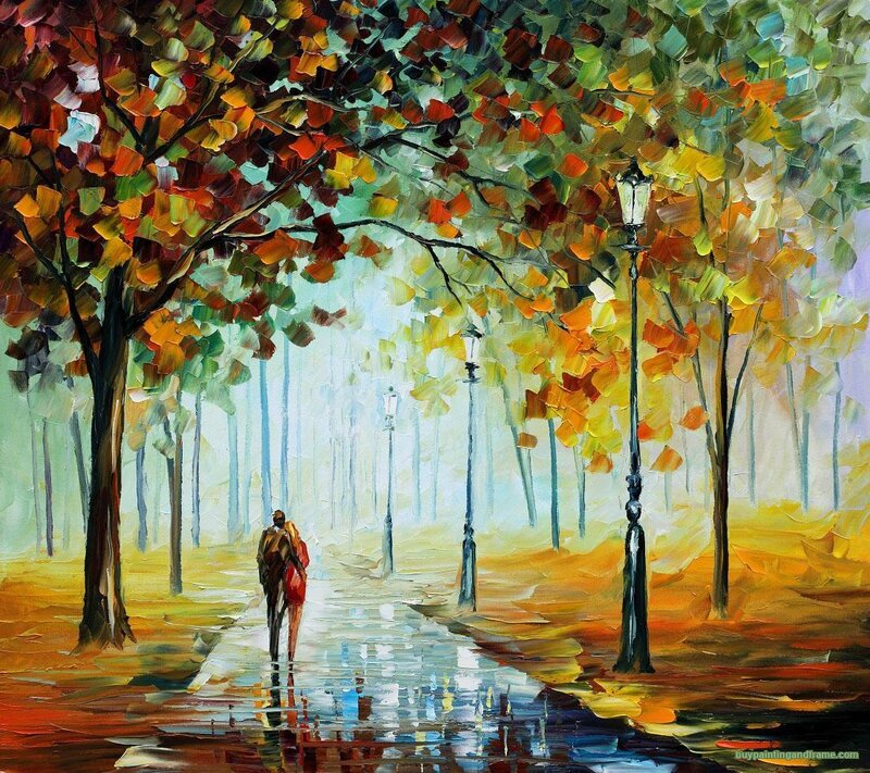 FALL LOVE By Leonid Afremov