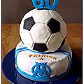 Cake design 3d football