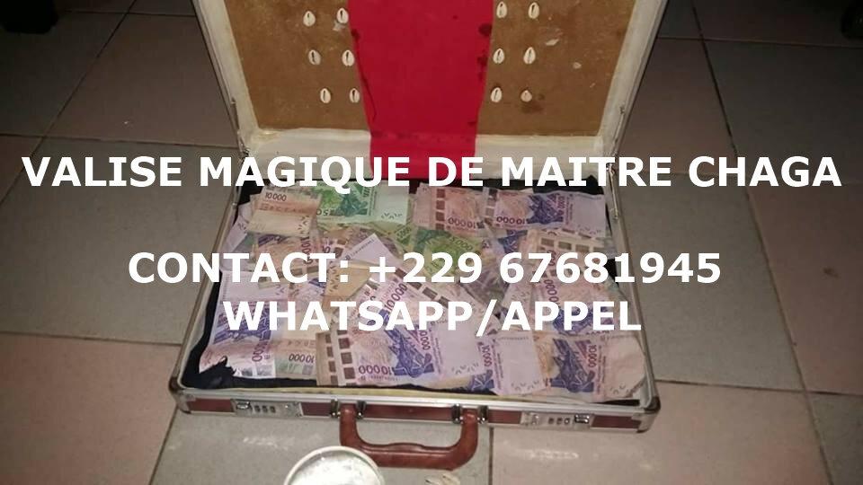 VALISE MAGIQUE DU MAITRE MARABOUT CHAGA
