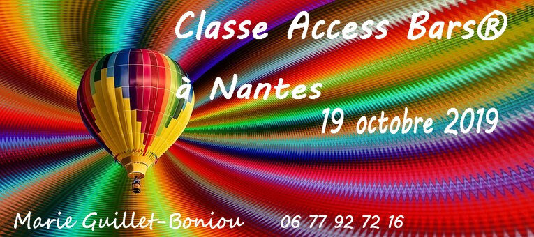 Classe Access Bars 19 octobre 2019