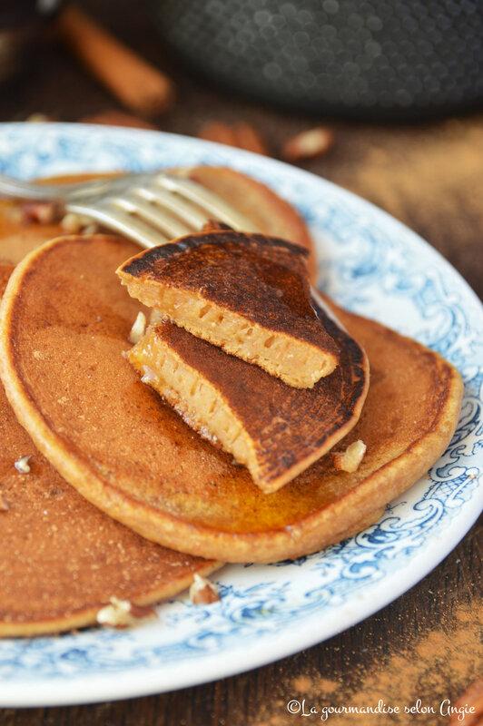 pancakes vegan à la patate douce et à la cannelle (1)