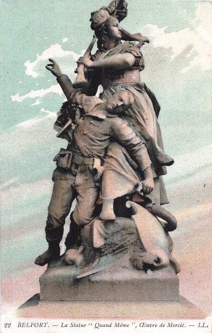 Belfort CPA Monument Quand-Même