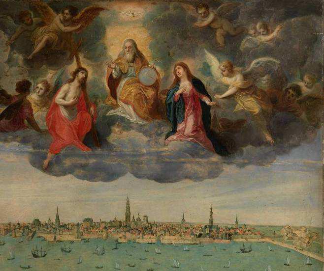 Hendrik van Balen I et Abel Grimmer, Anvers et le Vlaams Hoofd en 1600