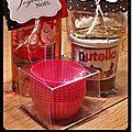Kit pour muffins au nut*lla