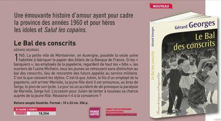 LE BAL DES CONSCRITS - GRAND LIVRE DU MOIS