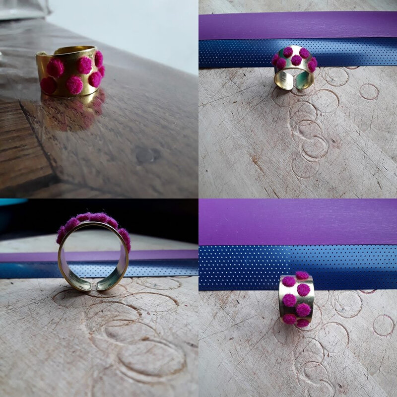 bague velue