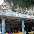 Batu caves is an indian temple