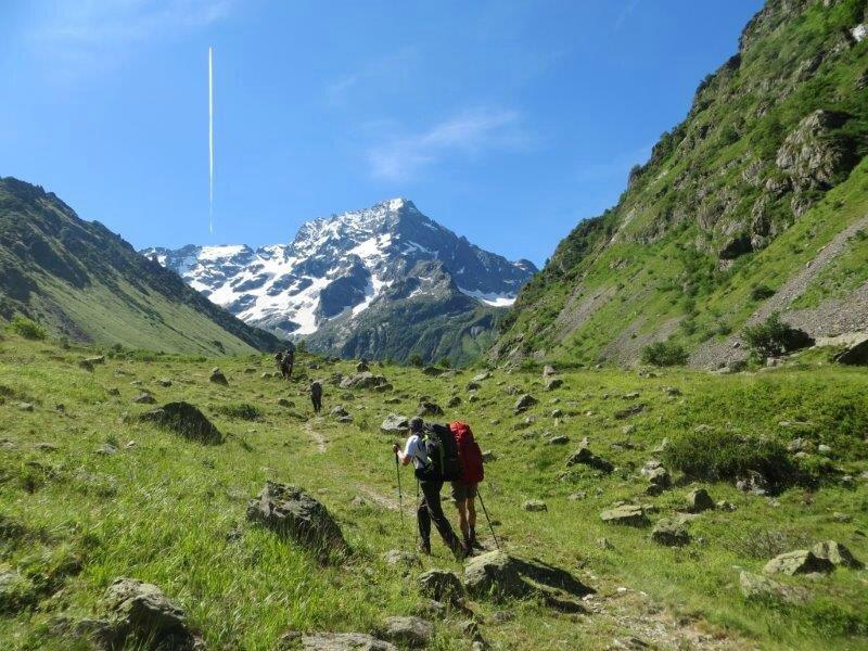 séjour de randonnées dans les Alpes