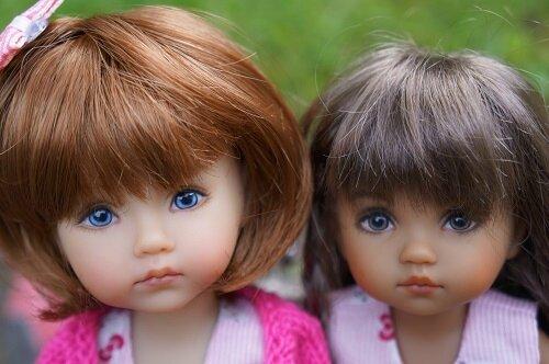 Eva et Maya , Boneka de Géri Uribe !