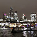 La City in the night (Londres, février 2020)