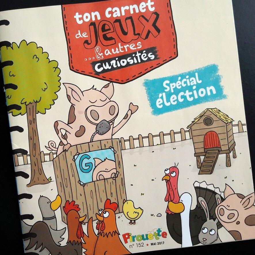Basse-cour - élections COUVERTURE