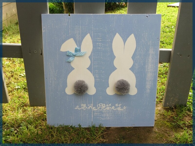 tableau lapin
