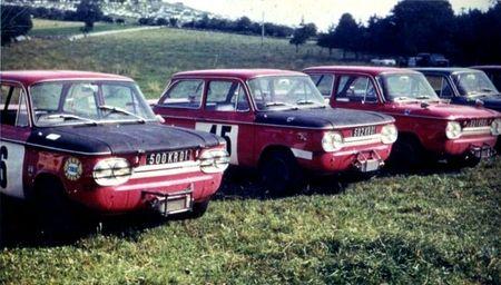 1968 - CC DE VUILLAFANS - 4 NSU Top