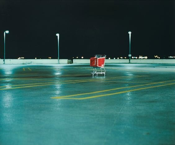 Untitled (Shopping Cart),2000, Photo ©Doug Aitken,