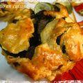 Paniers poulet basilic