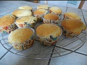 Muffin noix de coco-chocolat