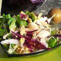 Salade de saison vitamines à foison .