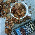 Faux-bacon de copeaux de coco fumés et épicés