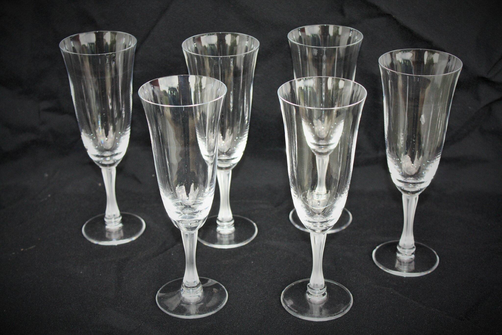 Flûtes à champagne Lalique Barsac (USA)