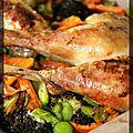 P'tit curry de poulet et légumes rôtis