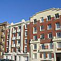 Immeubles boulevard Clémenceau.