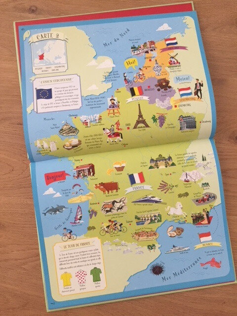 atlas de l'europe illustré éditions usborne 2