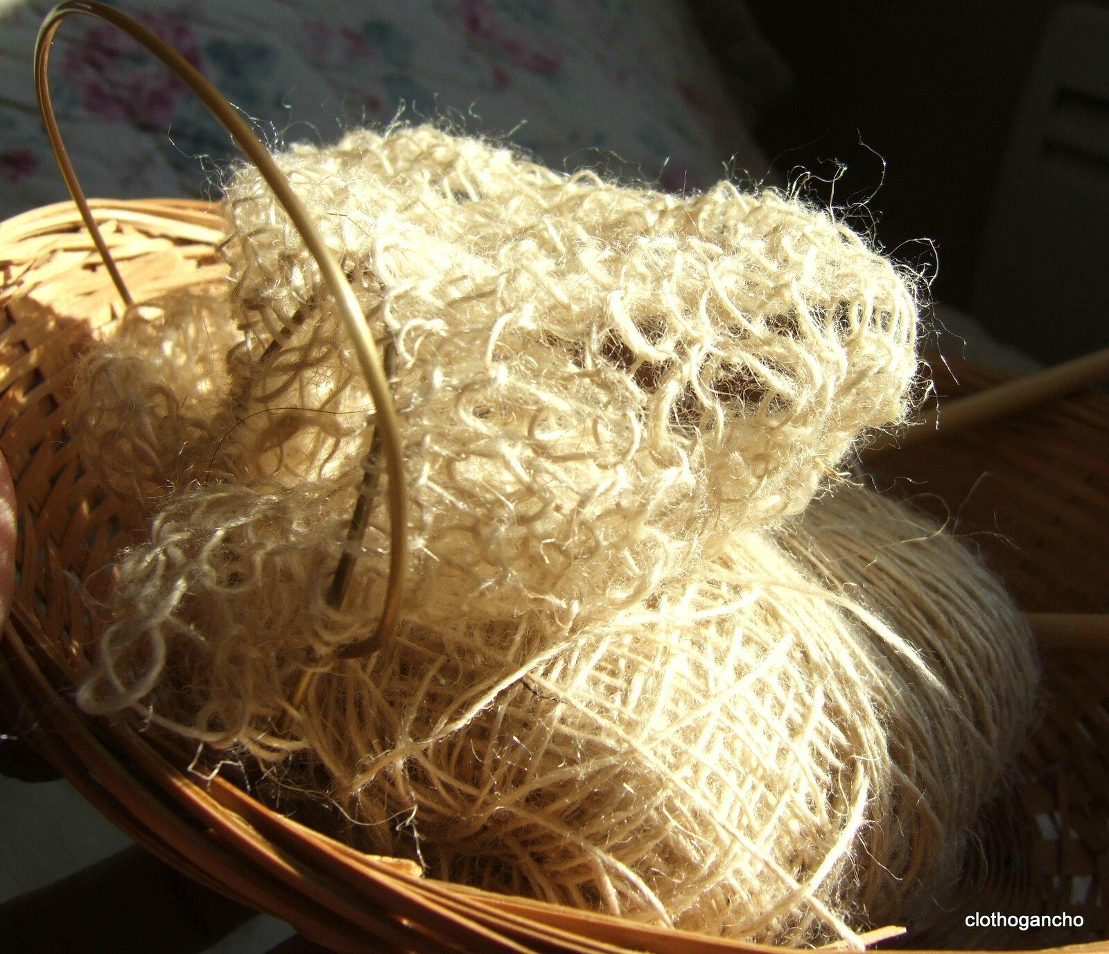 art textile, en cours