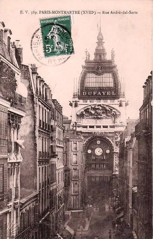 1918 08 10 galeries Dufayel