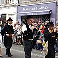 sonneurs pour la Fête des Brodeuses de Pont l'Abbé en 2014