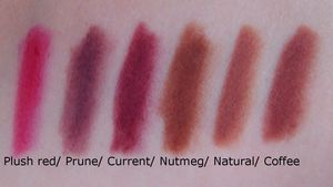 NYX_long_pencils_plush_red__prune__current__nutmeg__natural__coffee