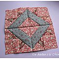 Farmer's wife sampler quilt, bloc 107