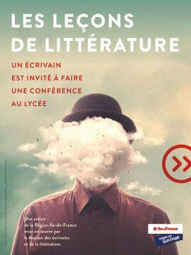 """Retour de l'opération """"Les leçons de littérature"""" dans les lycées d'Île-de-France"""