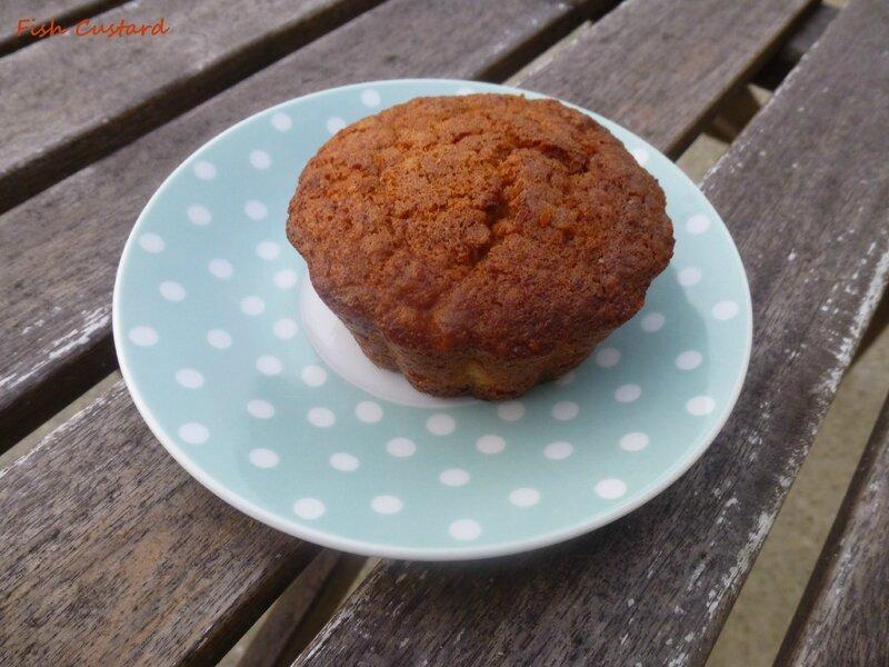 Muffins aux flocons d'avoine et pomme (20)