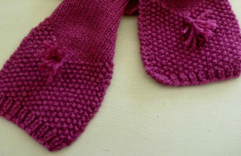 base de l'écharpe