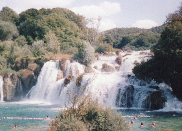 Croatie Parc national Krka