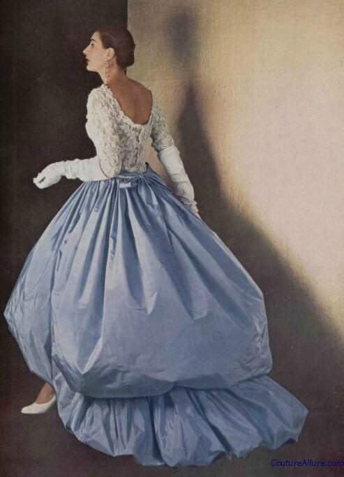 Cristóbal Balenciaga Evening Gown, 1954