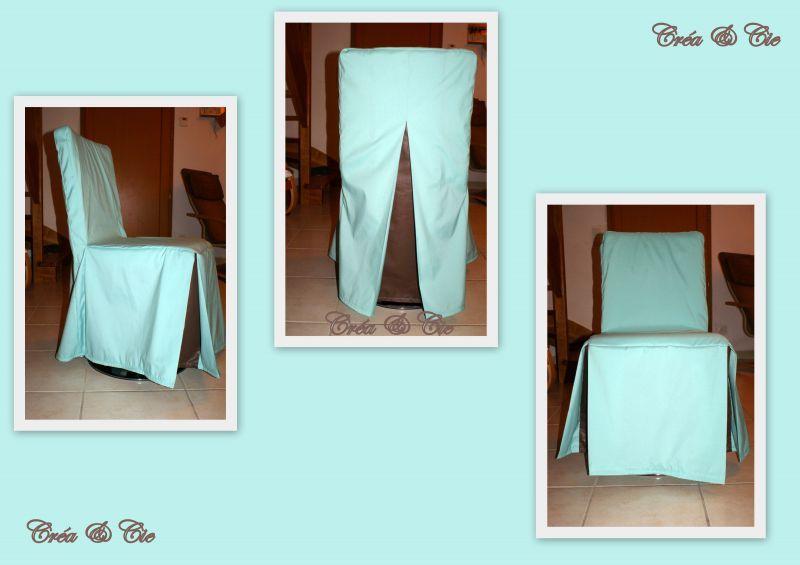 housse de chaise cr a et cie la couture dans tous ses tats. Black Bedroom Furniture Sets. Home Design Ideas