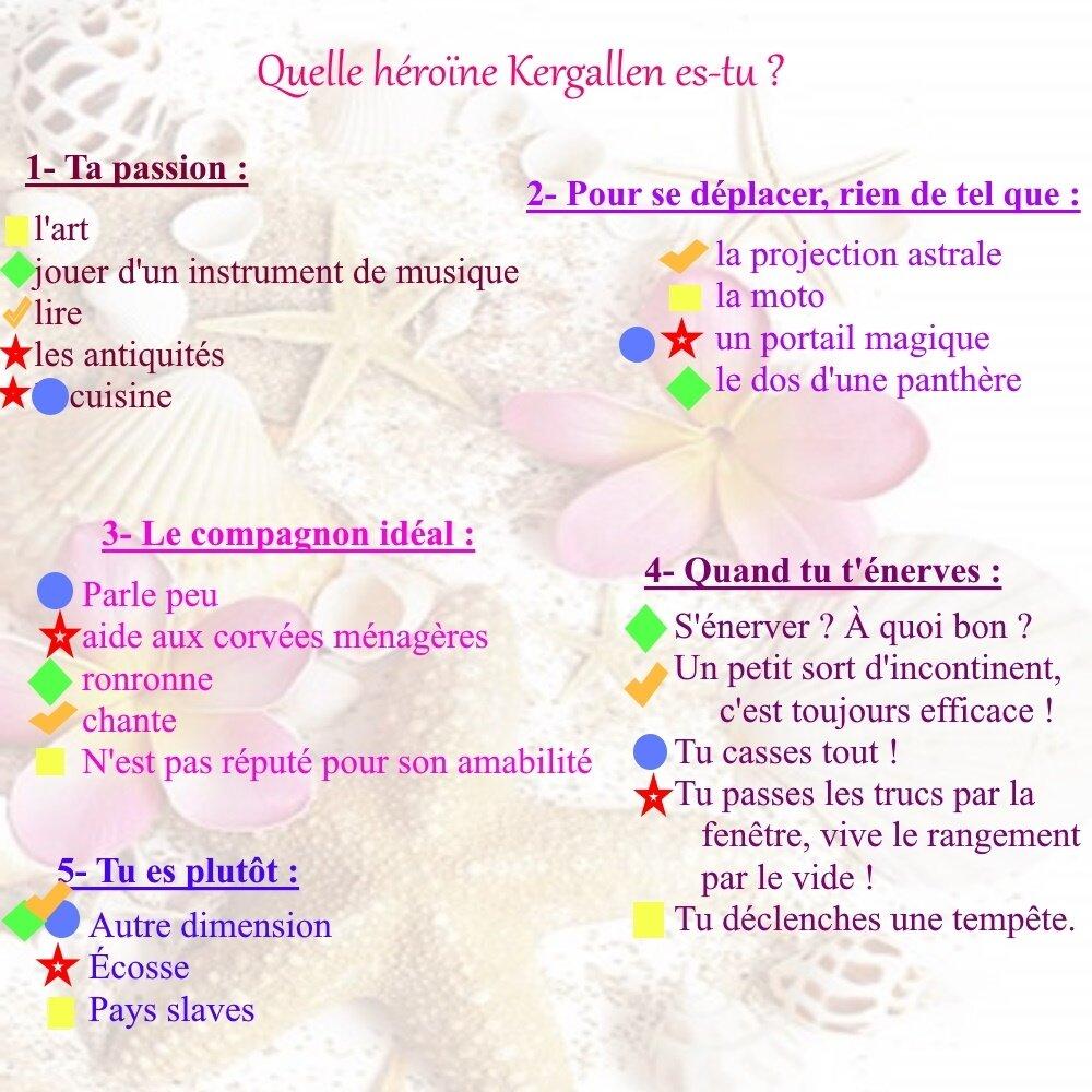Quelle héroïne Kergallen es-tu ?