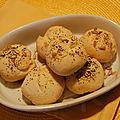 Petits pains express aux graines, sans gluten et sans lactose
