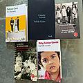 Les livres du deuxième trimestre