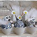 White & pâques ... diy : une déco léopard