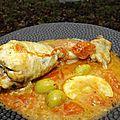 Pilons de poulet au citron et aux tomates cerise