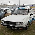 Renault 30 turbo-d ambulance baboulin (1982-1983)