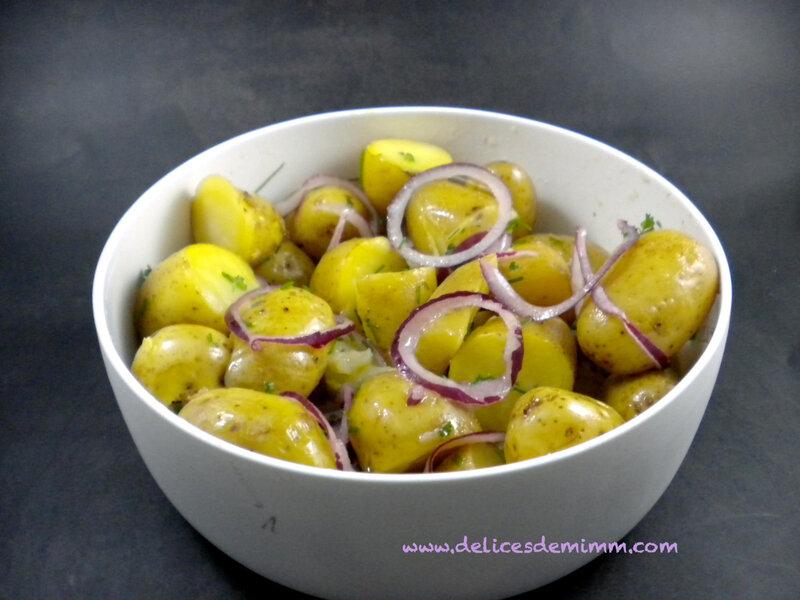 Salade de grenailles à la vinaigrette 4