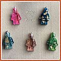 Pendentifs personnages lego