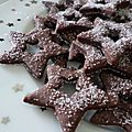 Étoiles au chocolat