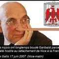 Max gallo et l'annexion de nice: mensonge ou ignorance ?