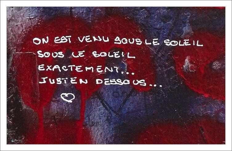 graff Gainsbourg exactement