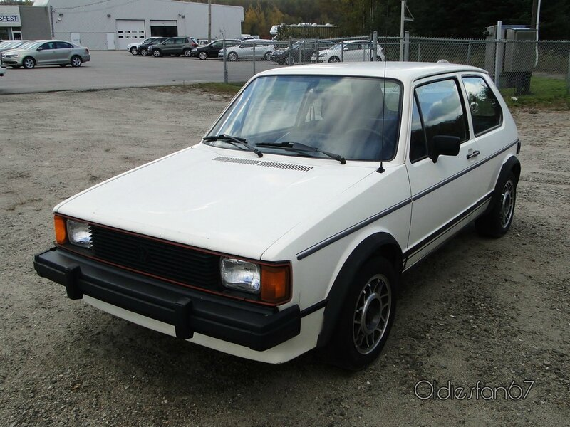 vw rabbit gti 1982 1984 a